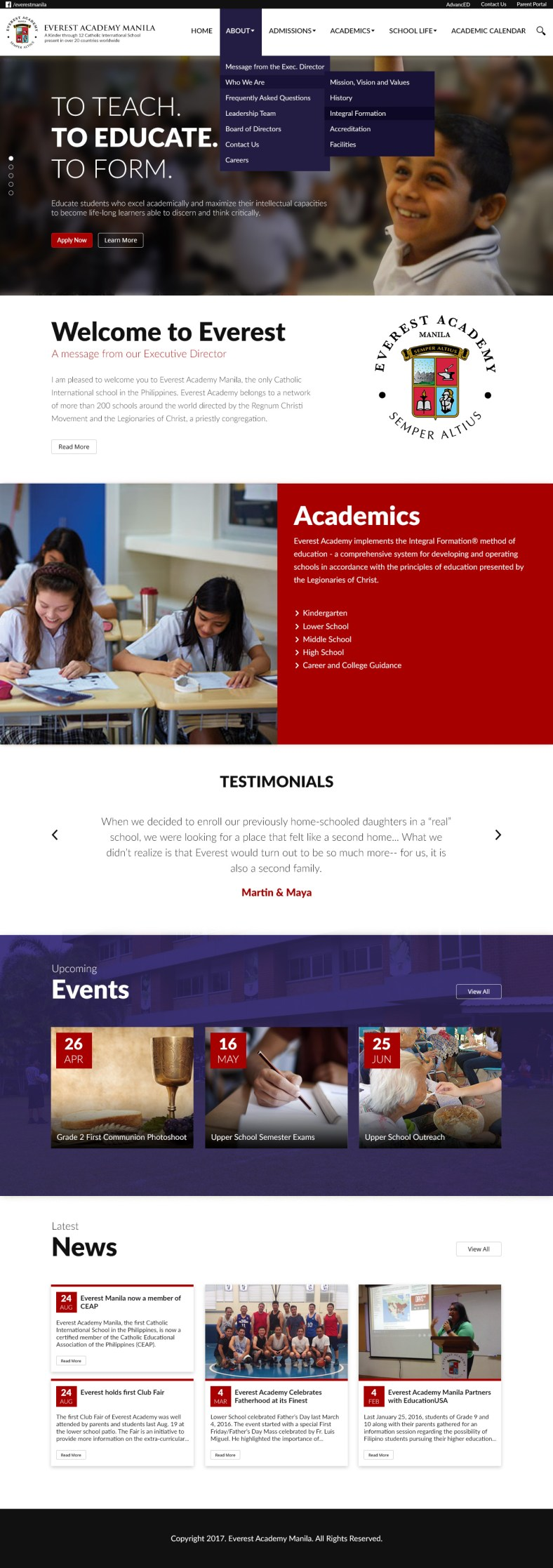 Eversest Academy Manila - Home Page