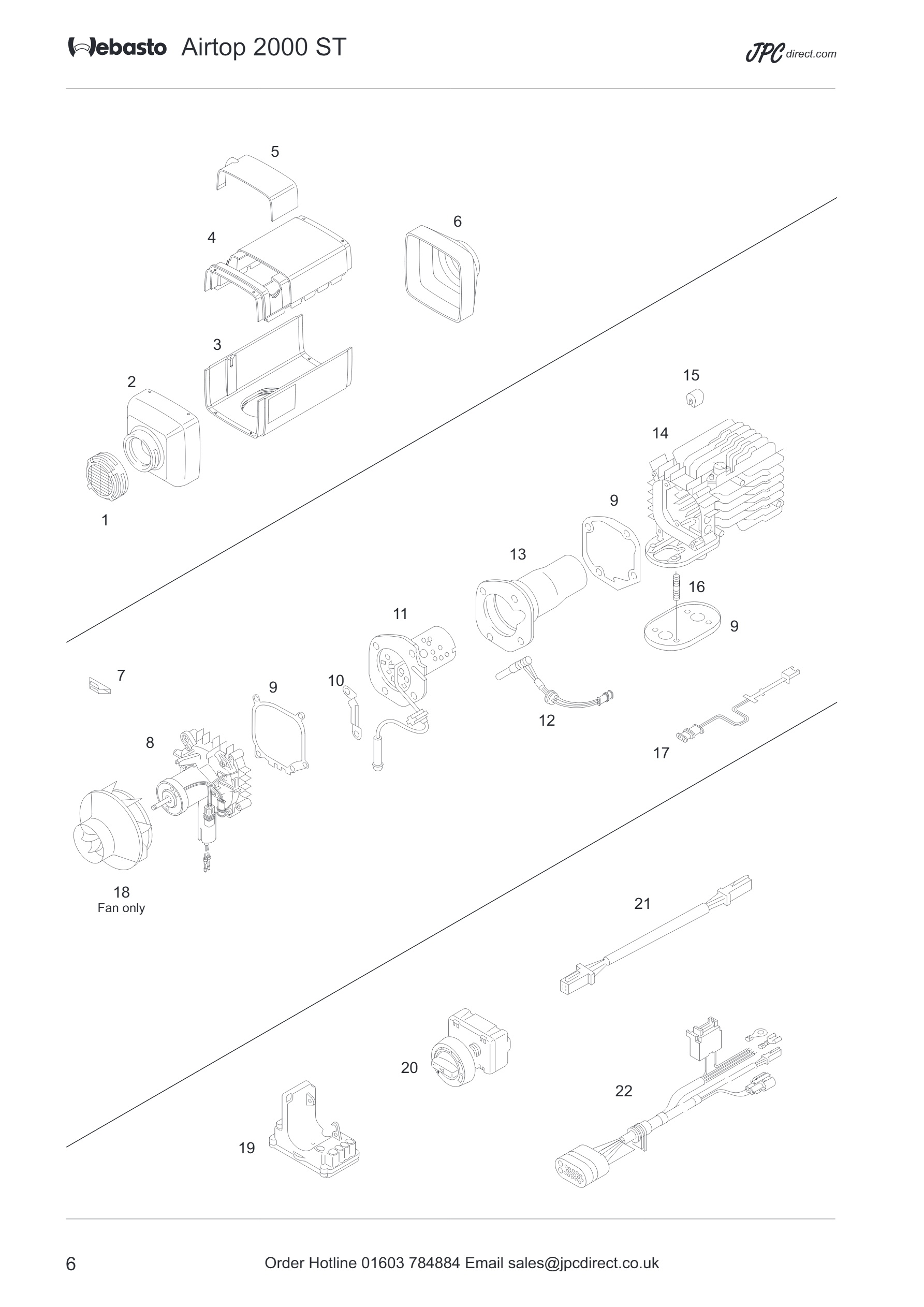 Wiring Diagram Webasto Air Top 2000