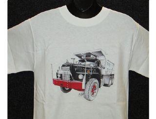 Mack Dump B81 10 Wheel Dump truck TShirtChrome store