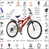 bicycles spare parts handle expanders bolts bicycle chain covers ...
