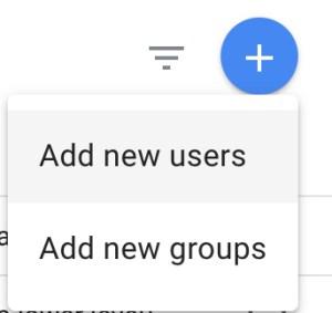 Google Analytics - Add new user
