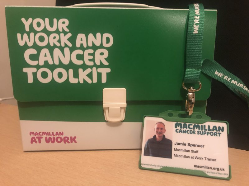 Macmillan Cancer Support Webinars #cancer #work
