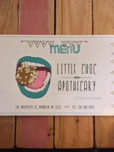 little choc apothecary ブルックリン おしゃれ カフェ ニューヨーク ビーガン クレープ デザート
