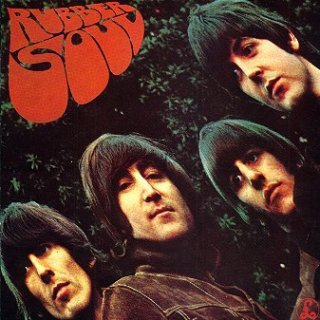 Rubber Soul - LP cover