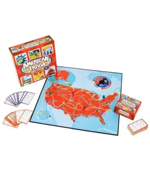American Trivia Game - Family Edition Display