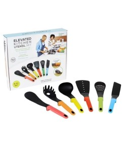 Elevated Kitchen Utensils Set