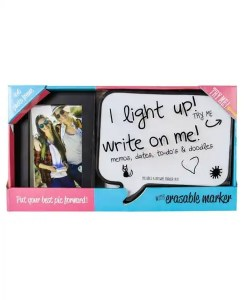 Word Bubble LED White Board Frame Set