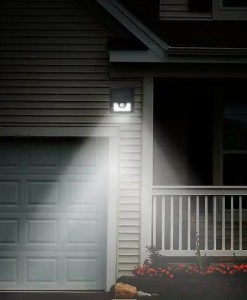 Garage Home Bright Solar LED Security Light - Motion Activated