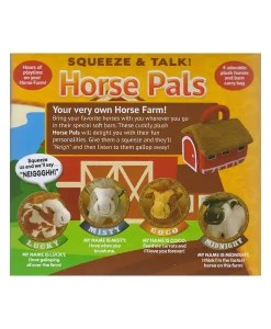 Squeeze and Talk Horse Pals Names