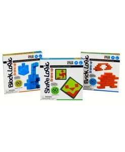 Logic Game Set - Shape-Block-Brick Set - STEM