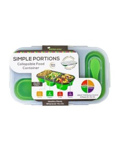 Simple Portions Collapsible Food Container - Kitchen Envy