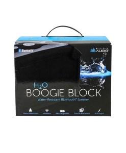 H2O Boogie Block Water Resistant Speaker Boxed