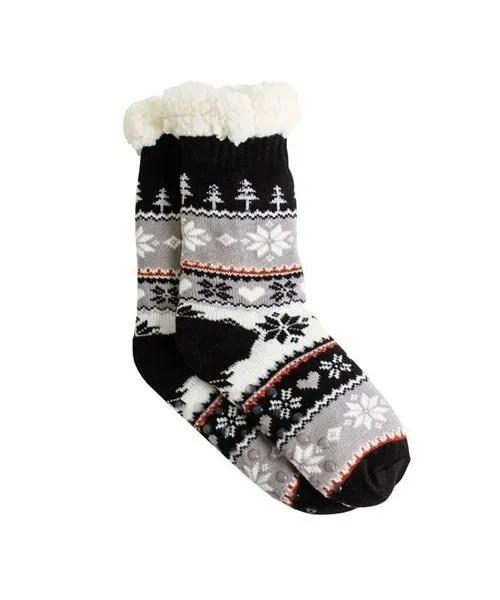 Thermal Knit Slipper Socks - Joy
