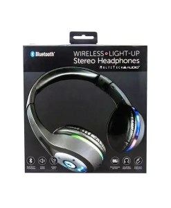 Wireless Light-Up Stereo Headphones