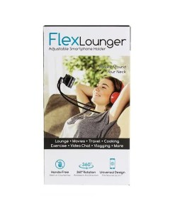 FlexLounger Adjustable Smartphone Holder
