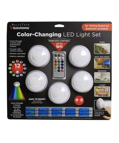Wireless LED Color Changing Accent Light