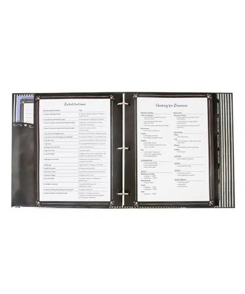 Complete Recipe Binder - Favorite Recipes - Middle
