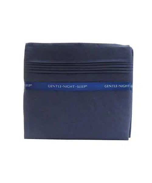 Deep Blue - Microfiber Sheet Set King -Back