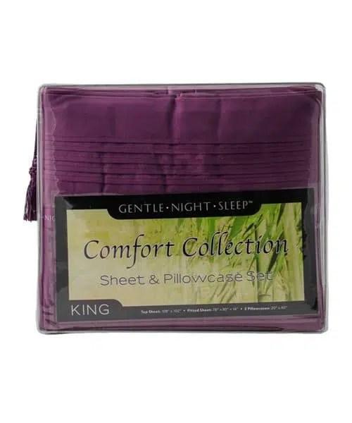 Royal Lavender - Microfiber Sheet Set King - Front