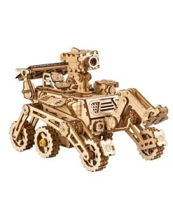 ROBOTIME DIY Assembly Set Solar Curiosity Rover - 3D Model - Cover
