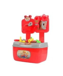 Children Simulation Repair Tool Box Portable House Play Puzzle Toy - Cover