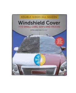 Double-Sided All Season Windshield Cover - Front