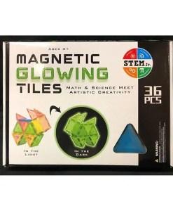 Magnetic Building Tiles - Glowing Tiles