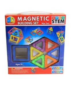 3D Magnetic Building Set