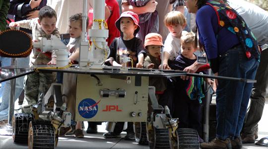 JPL's open house even