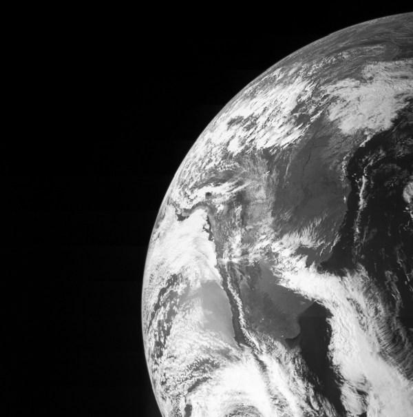 Juno Spacecraft Photo of Earth