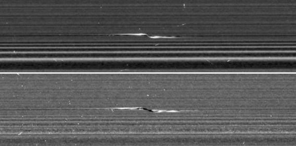 NASA Cassini Saturn Rings