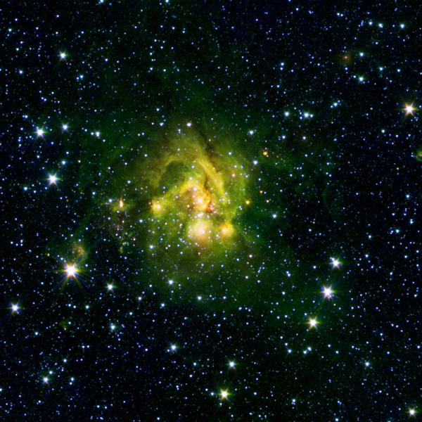 Space Images  A Shocking Outflow