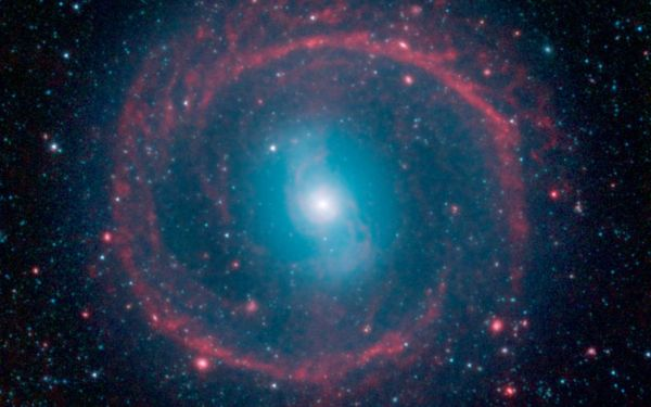 Space Ring Of Stellar Fire