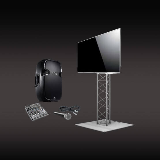Presentation Pack - TV Speaker & Microphone
