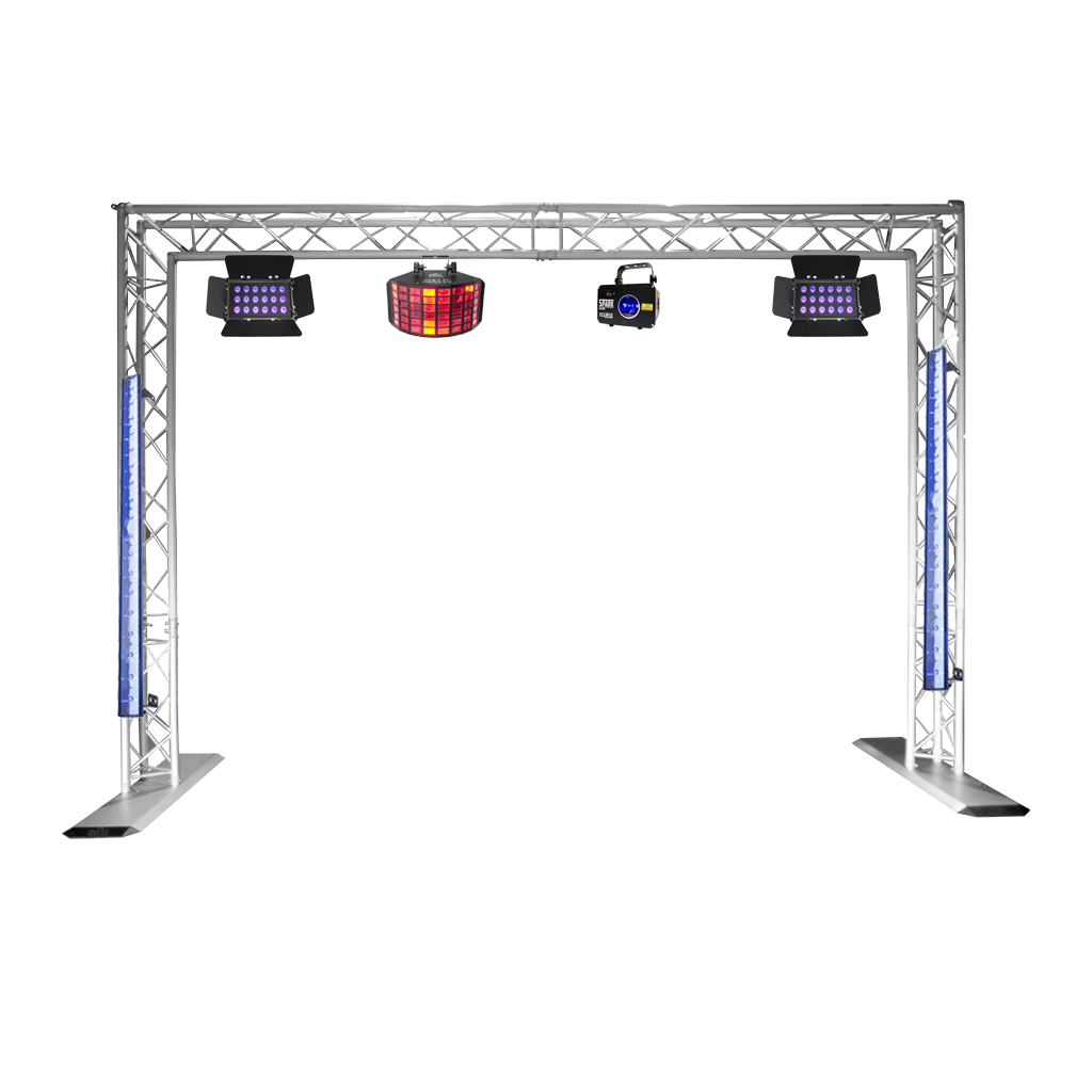 Uv party lighting package