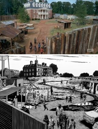 The Walking Dead, Hilltop