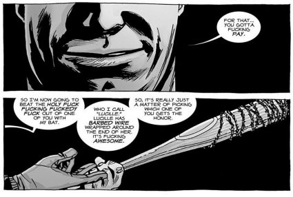 The Walking Dead, introducing Lucille