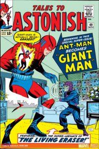 Giant-Man as seen in Captain America Civil War