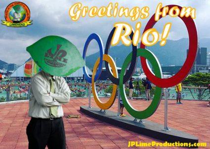 Limehead in Rio, Hello from Rio