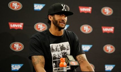 Colin Kaepernick at press conference