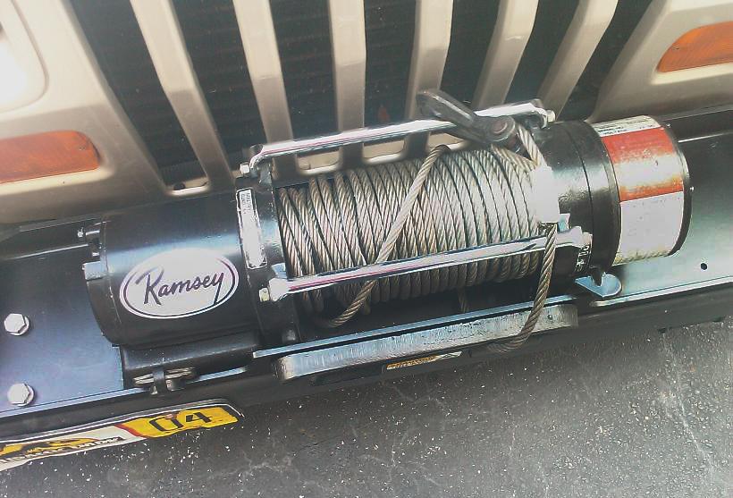 Ramsey 9000 Winch Wiring Diagram