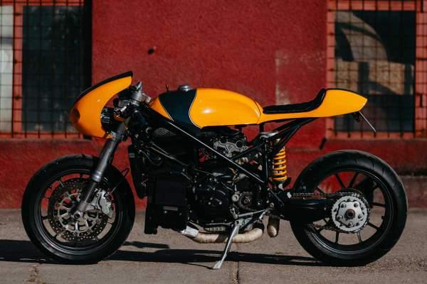 Perseus Ducati 749 cafe racer