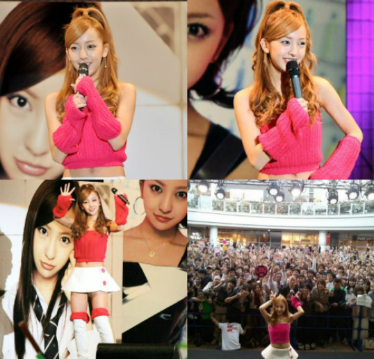 AKB48's Itano Tomomi Holds a Free Mini-Concert at Her Hometown