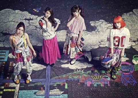 """SCANDAL Unveils Cover Art for """"Yoake no Ryuuseigun"""""""