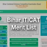 Bihar iti 2nd merit list