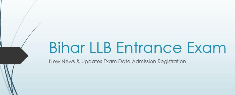 Bihar LLB Entrance Exam