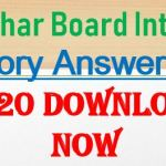 bseb 12th history answer key 2020