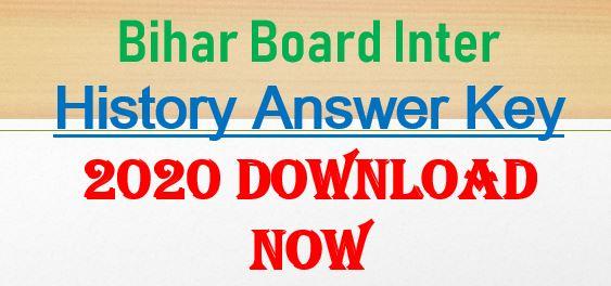 BSEB 12th History Answer Key