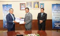 Majlis Menandatangani Memorandum Persefahaman (MoU) Antara Jabatan Penilaian Dan Perkhidmatan Harta (JPPH) Dengan Lembaga Hasil Dalam Negeri Malaysia (LHDNM) Pada 1 Oktober 2020