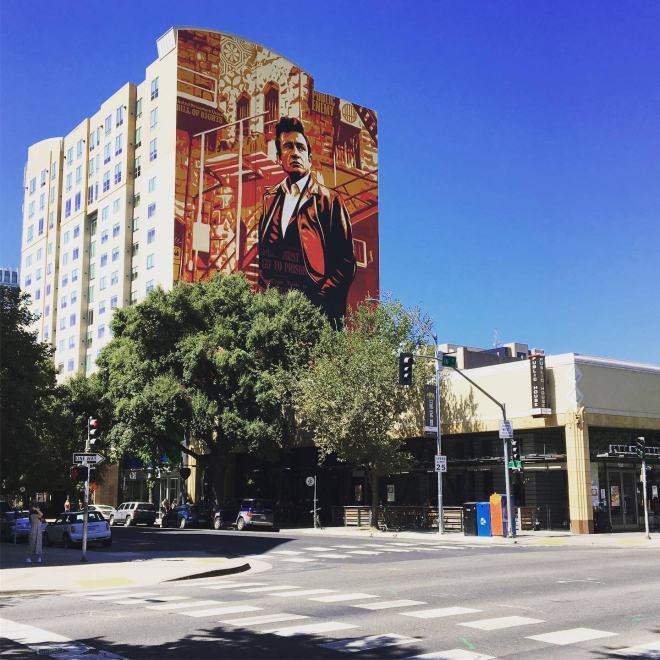 Mural en Downtown Sacramento
